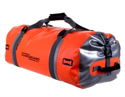 DUFFEL BAG 60 LTR, Orange. Vattentät.
