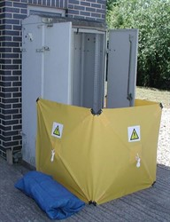 SCS1 Speed Screen 1x1m(H) Yellow