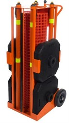 Iron Guard Portable Safety zone, 30m (100') orange fencing