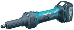 Makita DGD800 Straight Grinder 18V cpl.w.2pcs Battery/Charger 220V