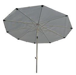 Umbrella ø2,0m 200 HD White PVC cover