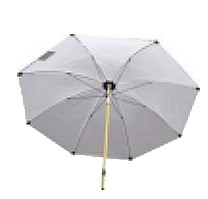 Umbrella ø2,5m 250 HD White PVC cover