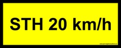 STH 20 km/h (Only for Sweden)
