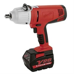 """""""Impact Wrench V28 - 1/2"""""""""""" Cordless 440Nm. 2 bat.pack"""