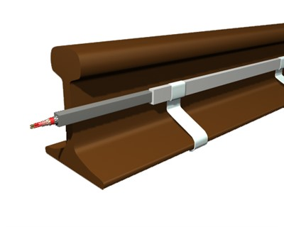 Rail heating system
