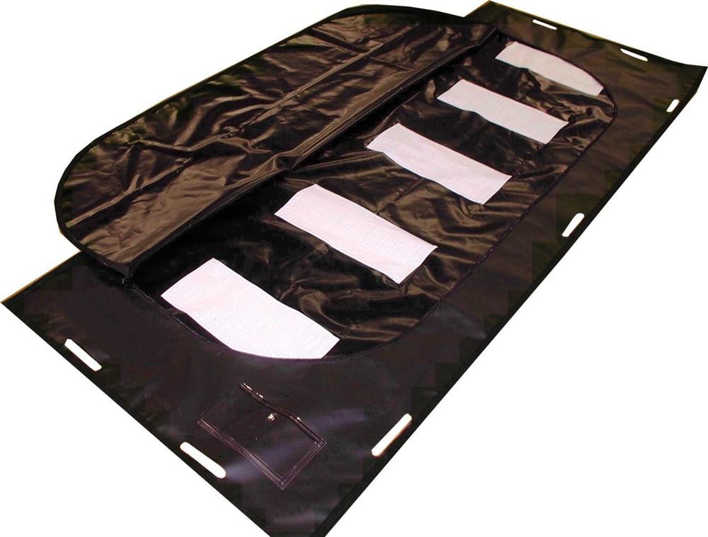 2.4x2.4x2.0 Black ForensicTent w.translucent roof