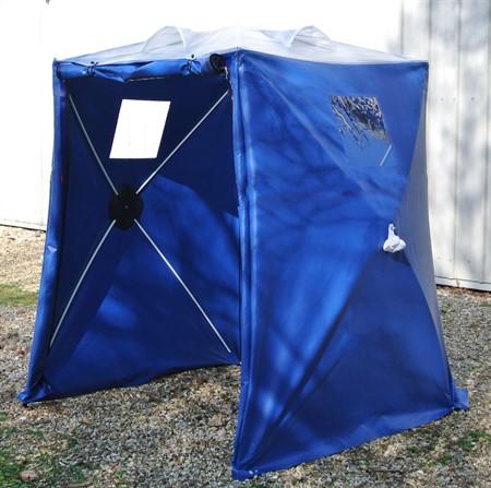 Uppblåsbart tält 6x5,50x2,75