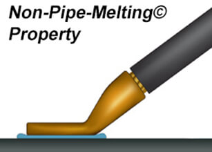 Non-Pipe-Melting© property